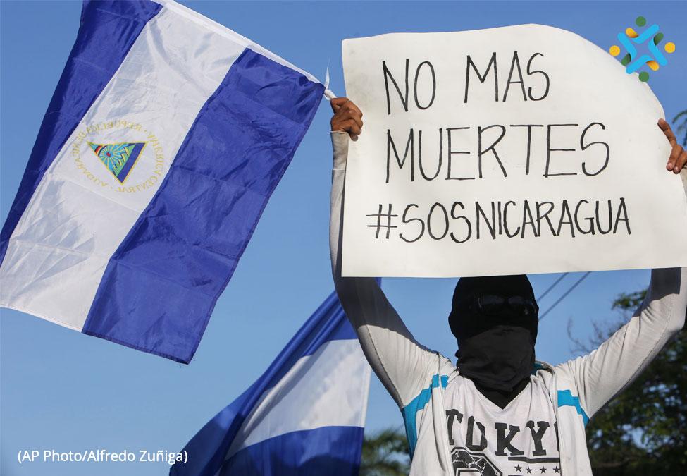 """""""El objetivo es que el señor Ortega salga delpoder"""""""