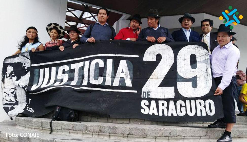 Los #29deSaraguro soninocentes