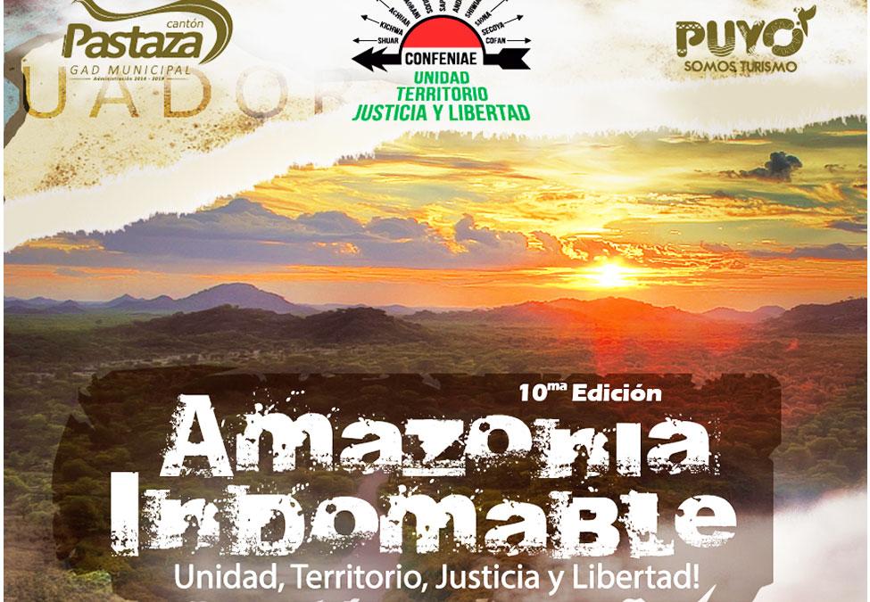 Amazonía Indomable. Arte y organización en pie delucha