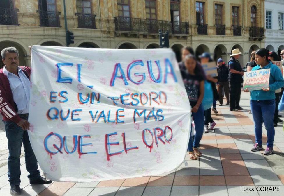 """El """"Quinto Río"""", la lucha por el agua en RíoBlanco"""