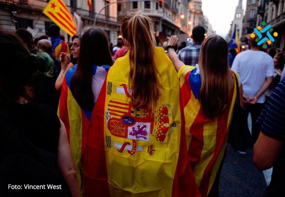 Represión antidemocrática española enCataluña