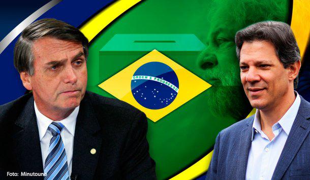 La derecha brasileña lidera elecciones2018