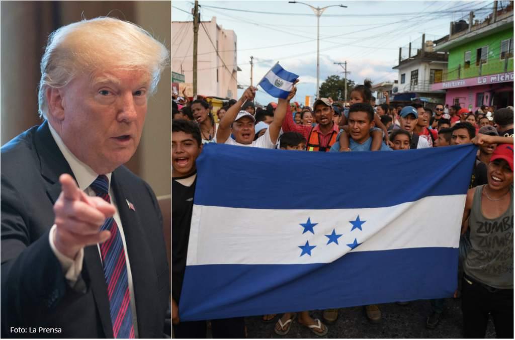 Centroamérica: Migrantes siguen en caravana pese a la amenazaimperialista