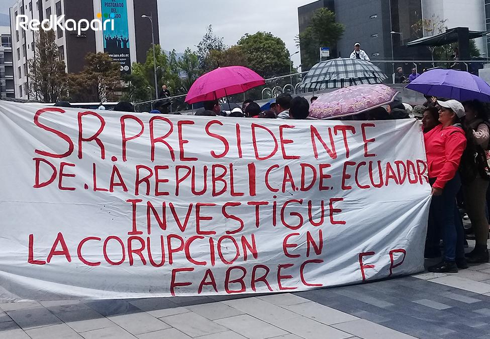 PROTESTA FABREC