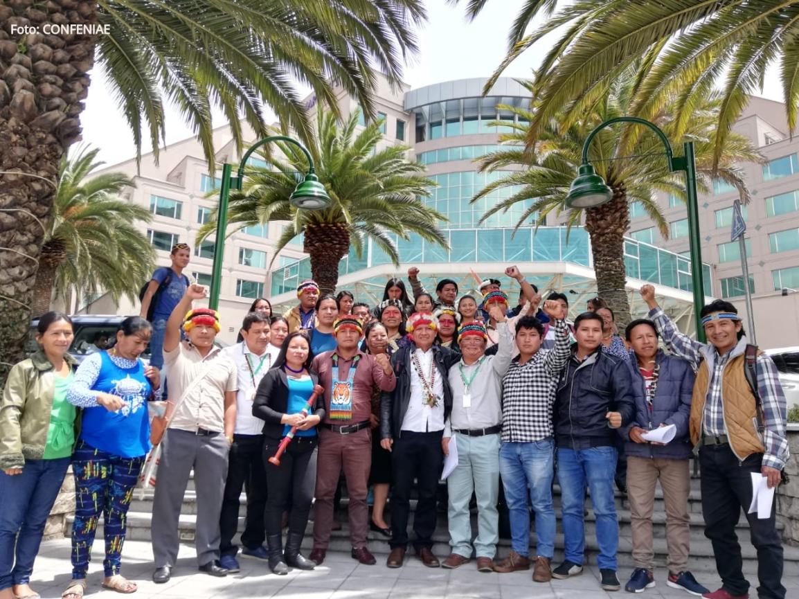 Nacionalidades del centro sur rechazan la XI Ronda Petrolera y declaraciones del ministro dehidrocarburos