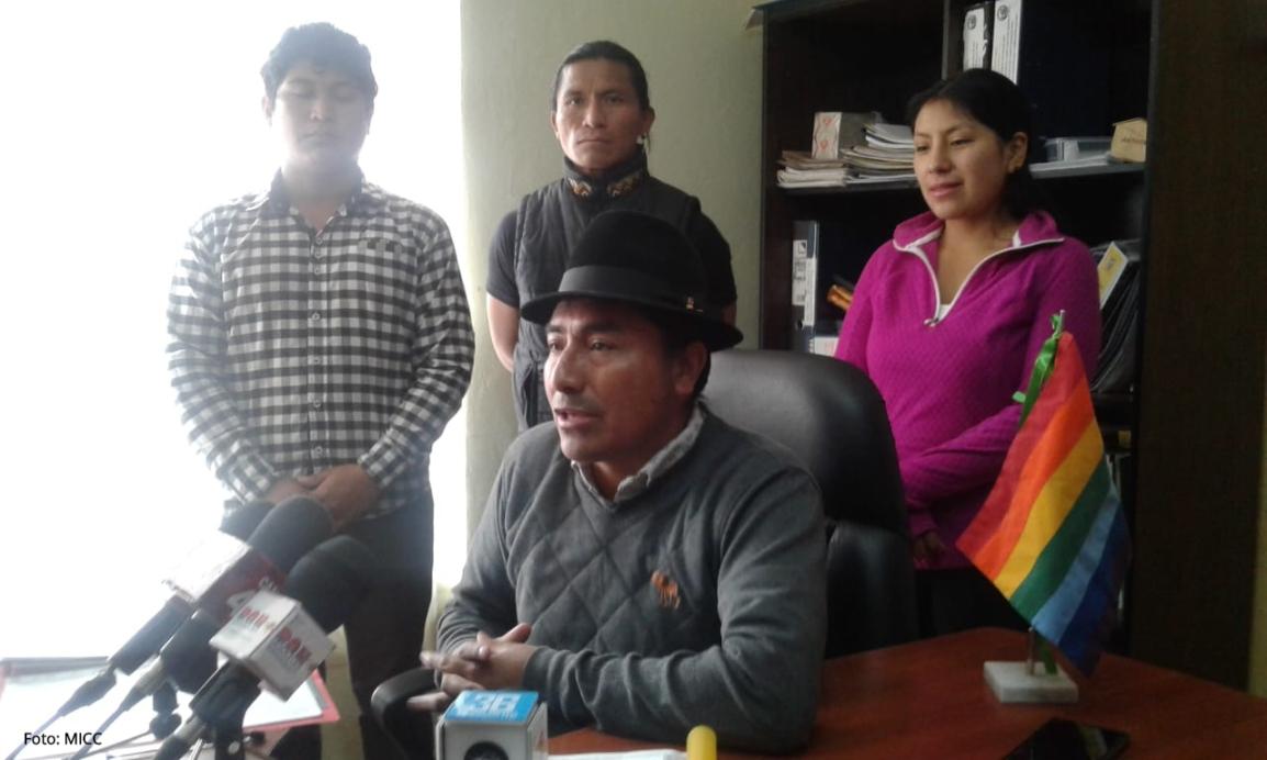 MICC anuncia movilización provincial para el 15 de Noviembre en articulación a la agenda nacional deCONAIE