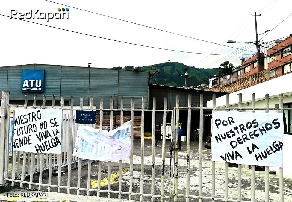 ATU: La huelga en tiempos delcólera