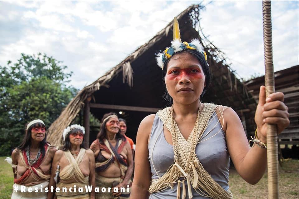 Resistencia Waorani conaie
