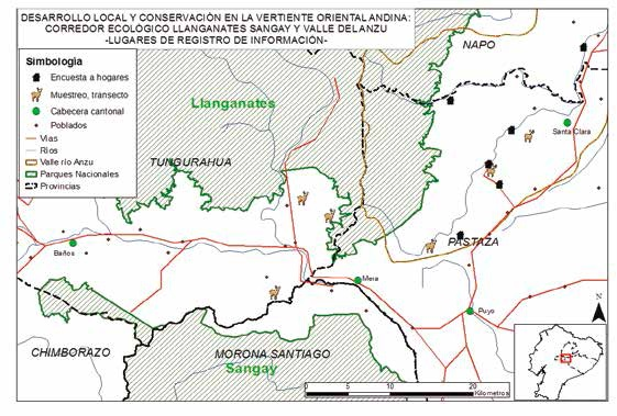 Corredor Ecológico Llanganates –Sangay