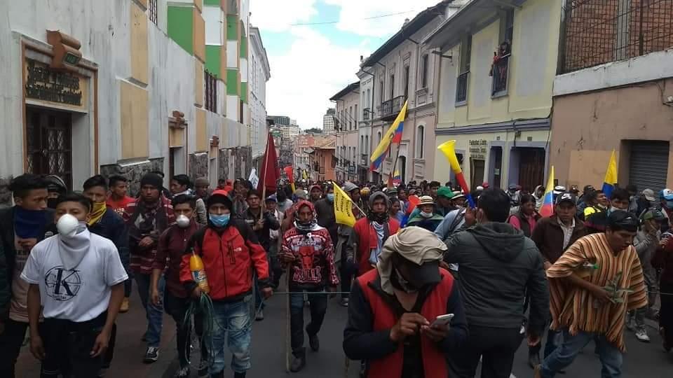 La movilización y el movimiento popular en estos siete días de hueganacional