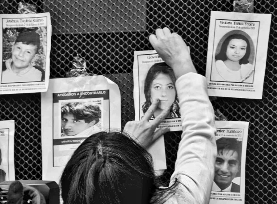 ASFADEC una lucha incansable por los desaparecidos/as enEcuador