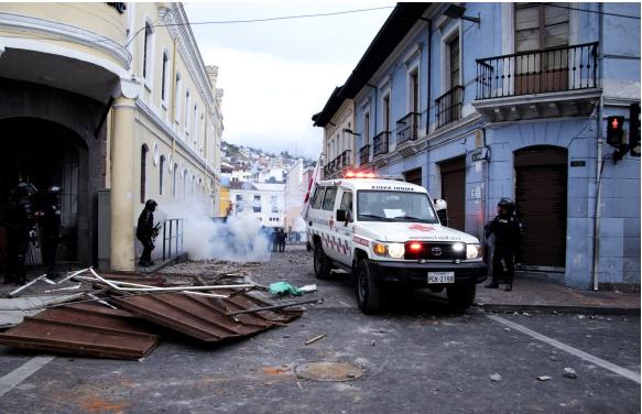 Ataque generalizado y uso excesivo de la fuerza contra civiles, señala informe de laDPE