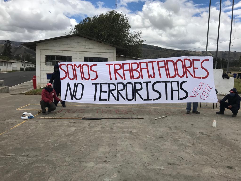 Defensor del Pueblo respalda demanda de trabajadores de Explocen: Ministro de Trabajo seráenjuiciado