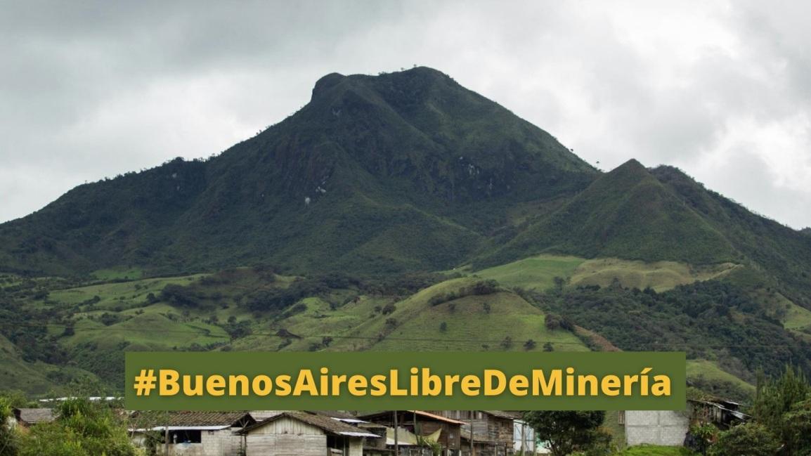 Pobladores de la parroquia de Buenos Aires se declaran en resistencia ante el avance de la minería en susterritorios