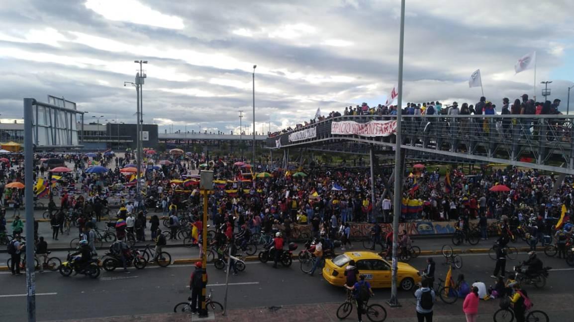 COLOMBIA: EL MENSAJE PRINCIPAL Y MÁS IMPORTANTE ES EL DERESISTENCIA.