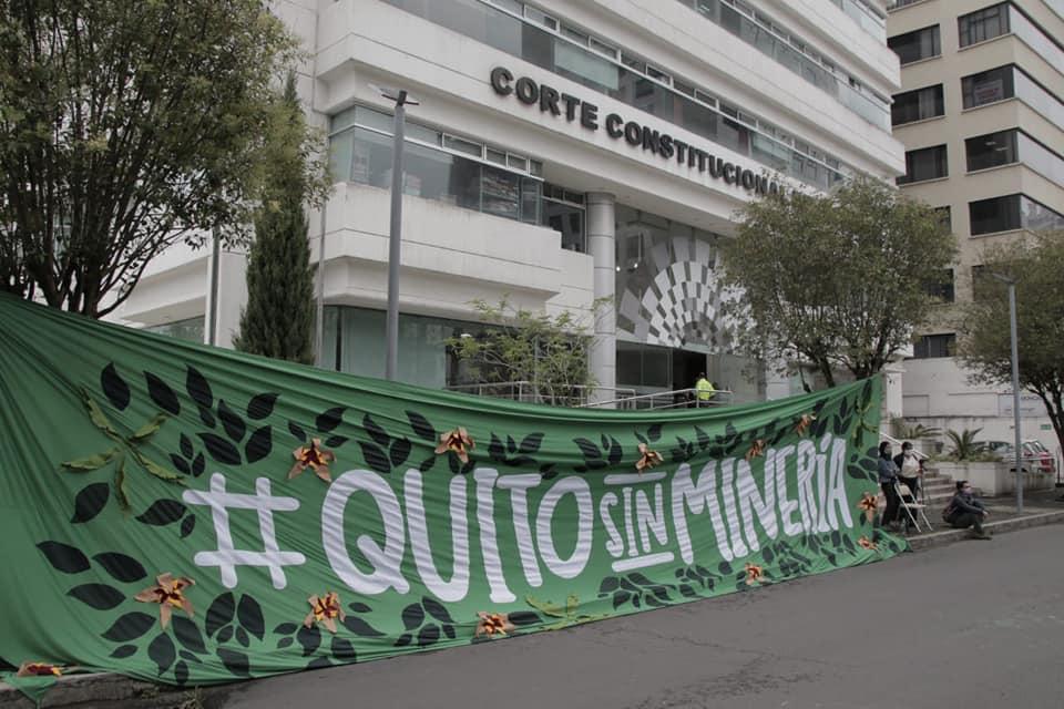 Movimiento Quito Libre de Minería, luchas del noroccidente de Quito a favor de labiodiversidad