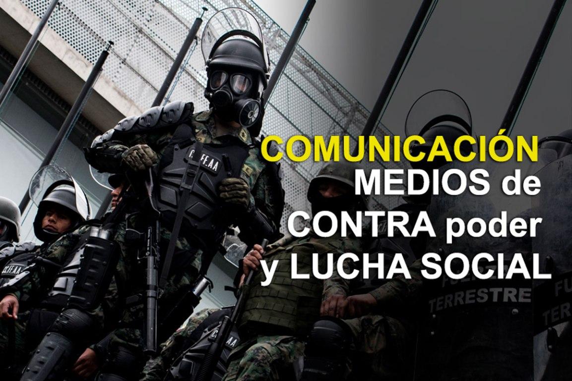Encuentro: Comunicación, medios de contrapoder y luchasocial
